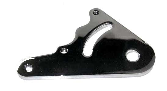 Jay Brake Rear Caliper Mount (Bottom, Rigid Frames, Chrome)