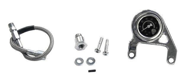 Ness-Tech Oil Pressure Gauge Bracket Kit