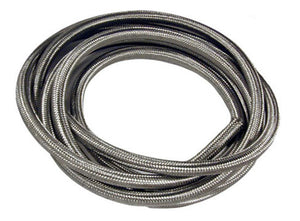 Street-Flex Braided Stainless Steel Fuel/Oil Line (Sold by Foot)