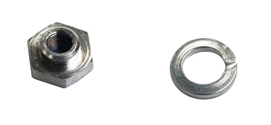 Seat Post Rod Lock Nut & Lockwasher