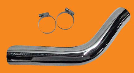Heat Shield For Evolution Sportster With 1 3/4 Inch Exhaust Pipe