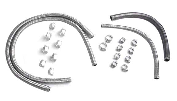 Street-Flex Oil Line Kit For Big Twin (FXR 1987-1991, Without Oi