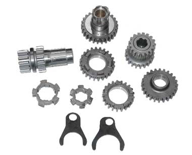 Transmission Gear Set For Big Twin 4 Speed (2.44 Low & Stock Rat