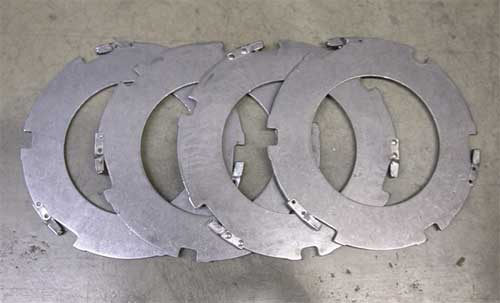 Clutch Drive Disc With Anti-Rattlers (Kit of 4 Plates 1968-Later