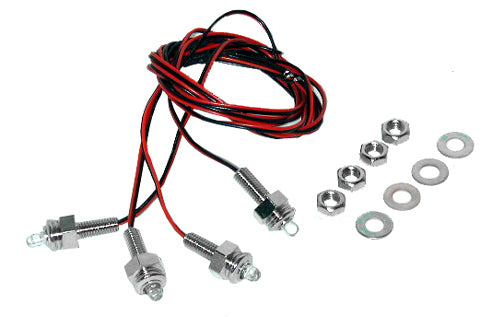 LED License Plate Mounting Hardware Kit