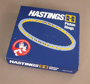 """Hasting Piston Ring Set For Sportster 1988-Later(.005"""" OS)"""