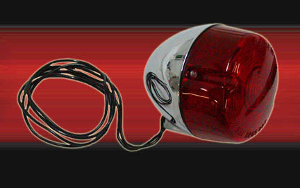 Turn Signal Light In Red Lens Without Threads (1986-Later)
