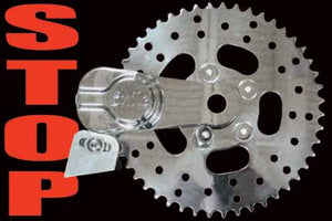 Sprocket Brake Kit (48 Tooth, Chrome Caliper)