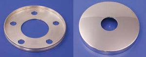 Polished Pulley Bolt Cover Kit