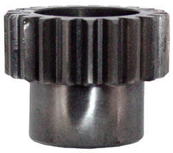 Pinion Gear For Tapered Shaft Big Twin Late 1977-1989 (Blue)