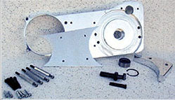"""Motor Plate Kit For BDL 3"""" Belt Drive (Big Twin 4 Speed 1970-1"