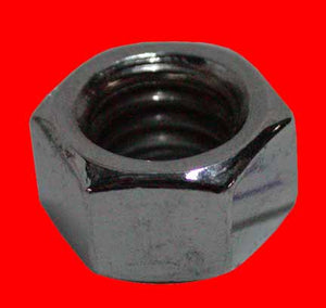 Chrome Hex Nut (3/8-16, UNC)