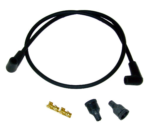 Spark Plug Wire Set (Black, FL, FX, XL 1979-Earlier)