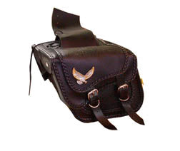 Willie & Max Black Magic Saddlebag (12 x 9 1/2 x 5 1/2)