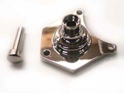 Solenoid End Cover W/ Starter Button Evo 91/L