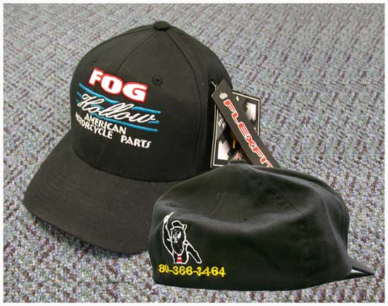 Fog Hollow Cap (Logo in Front, Stretch Back, Large, XL)