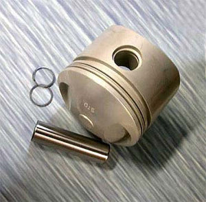 Piston for 74ci, 1200cc (7.5 to 1 Comp, .040)
