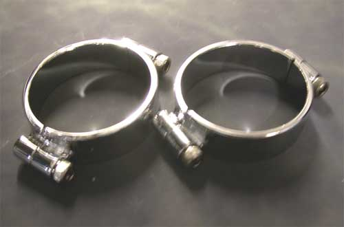 Intake Manifold Clamps for Shovelhead & Ironhead Sportster (1978