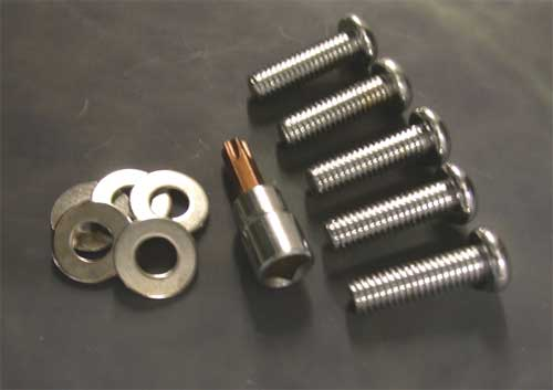 Hardware Kit for Belt Drive Sprocket Insert