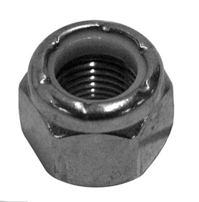 Nylon Insert Hex Nut (1/4-20 Thread, Stainless)