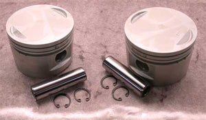 "Cast Piston for Big Twin Evo (80ci, 3 1/2"", +.020"" OS) SOLD EACH"