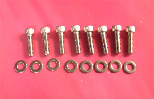 Rocker Cover Screw Kit for Big Twin Evo 1984-Later (Upper Cover