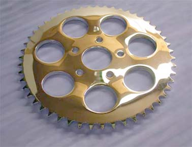 Rear Sprocket for Big Twin 4 Speed (1973-1985, 13.8mm Offset,51T