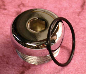 Primary Cover Plug (Clutch Adjusting, 1971-1976 Sportster)
