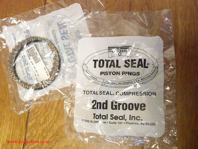 Total Seal piston rings Sportster 900cc .030