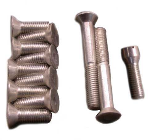 Transmission Top Cover Screw Set for Big Twin 1965-1979