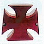 Maltese Cross Tail Lamp