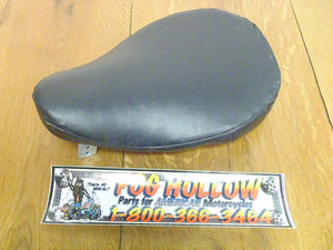 Vintage Solo Seat Black Leather