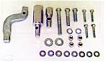 Floorboard Mounting Kit (FL 4 spd 70-84 w/ Aluminum Primary)