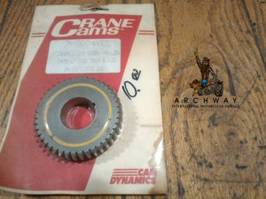 "Crane ""Fireball"" cam gear-Yellow 1978 up Big Twin & Evo   74-80 CI"