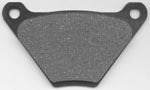 Brake Pads Front And Rear (1972-1984, Semi-Metallic)