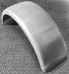 "Heavy Duty Flat Rear Fender 8.5"" Wide Bobber, Chopper,"