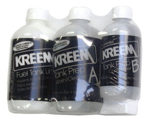 Kreem Fuel Tank Liner and Prep (Combo Pack)