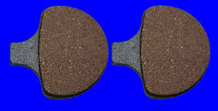 Disc Brake Pads (Front for Sportster, Big Twin, Semi-Metallic)