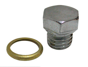 Engine Case Drain Plug (Hex Head With Copper Sealing Washer)