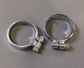 Super Exhaust Port Clamps (Panhead)