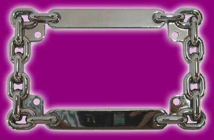 License Plate Frame ( 4 x 7 Plates)