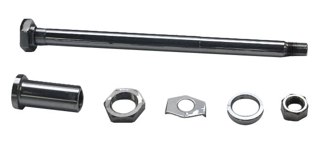 Rear Axle Kit With Chrome Hardware (Big Twin)