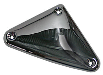 Smooth Chrome Ignition Module Cover For Evo & Ironhead XL