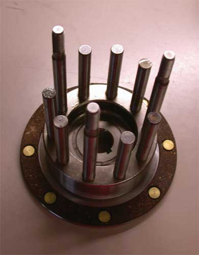 Clutch Hub With Studs (Big Twin)