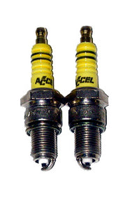 Accel Spark Plugs For K Model, Sportster (900cc, 1000cc, 1952-19