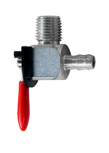 ZINC Fuel Valve (1/4 NPT Male Fitting, 90 Degree Outlet)