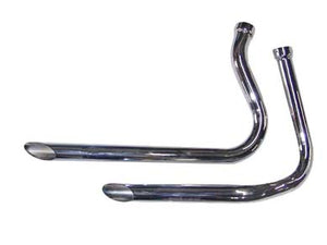 Classic Drag Pipe Exhaust Set For Panhead