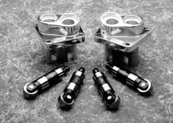 Billet Tappet Blocks With Big Axle Powerglide Tappets (Pan, Shov