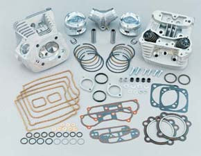 S&S 96C.I. Cylinder Head And Piston Kit (3 5/8 Inch)