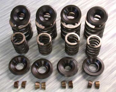 Stock Replacement Valve Spring/Collar Set (Sportster 1957-Early